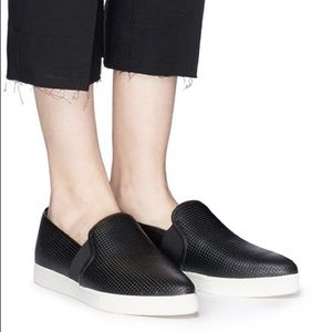 Vince Blair Perforated Slip-On Sneakers